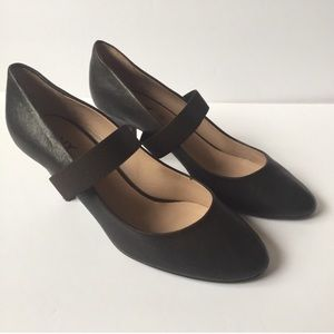 DKNY Brown Pumps Upper Band Heels Size 10M